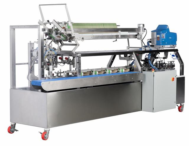 HC-120. cartoner. 2020 glue system
