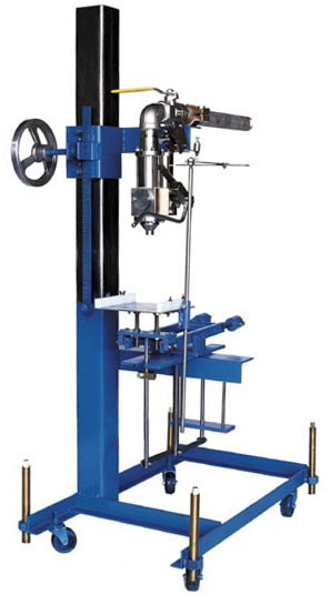 CR. A1 25MTX pail filler, top mechanical