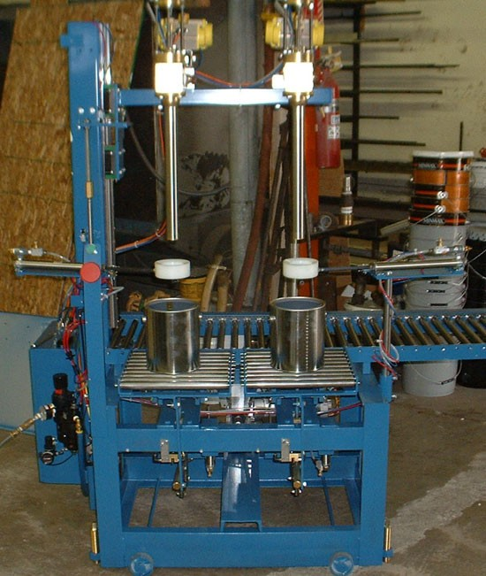 CR.AF multi head pneumatic sub surface pail filler