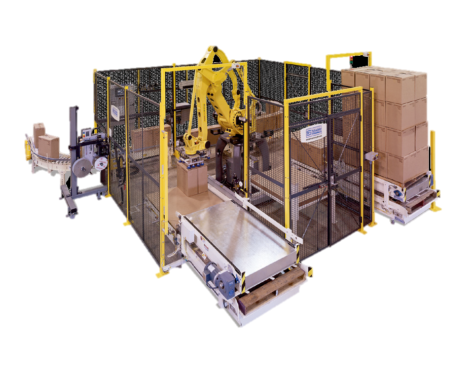 Schneider. multi-line palletizer