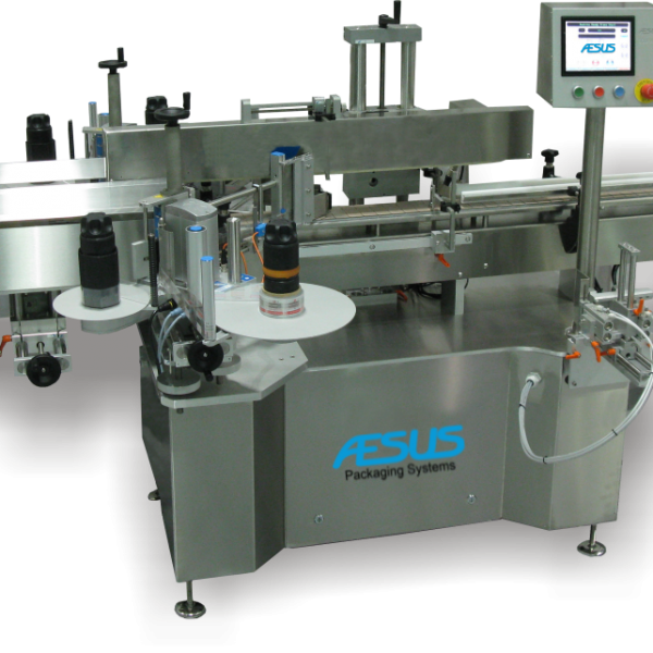 Aesus. Front & Back. Eco Panel Labeller